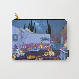 LIKE DOGS AND CATS Carry-All Pouch