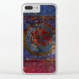 Fragments in the Fire Clear iPhone Case