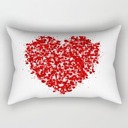big heart 01 Rectangular Pillow