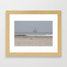 Coast line, California Framed Art Print