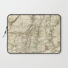 American Revolutionary War Map (1782) Laptop Sleeve