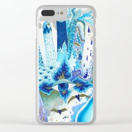 Hand of Protection Clear iPhone Case