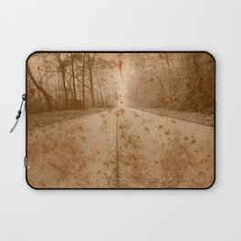 Rustic Forest Road Laptop Sleeve