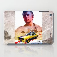 mad max iPad Cases featuring Mad max poster by danimo