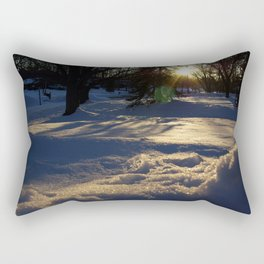 Blue Afternoon Rectangular Pillow