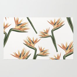 Birds of Paradise Flowers 2 Rug