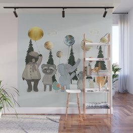 the solar parade Wall Mural