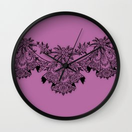 Vintage Lace Hankies Bodacious Wall Clock