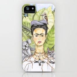 Frida en Australia iPhone Case
