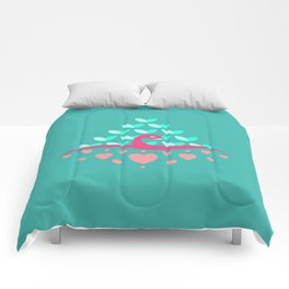 Be Beautiful - Be Colourful Peacock Comforters