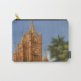 vintage Palermo Sicily Italian travel ad Carry-All Pouch