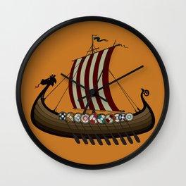 Vikings Wall Clock
