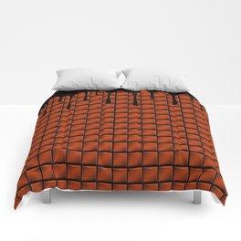 Dripping Chocolate Bar Comforters