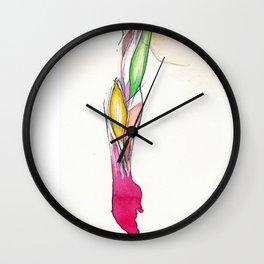 Righty, arm anatomy, NYC artist Wall Clock