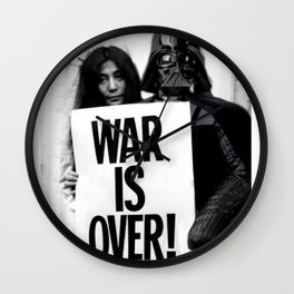 Darth Vader with Yoko Ono Wall Clock