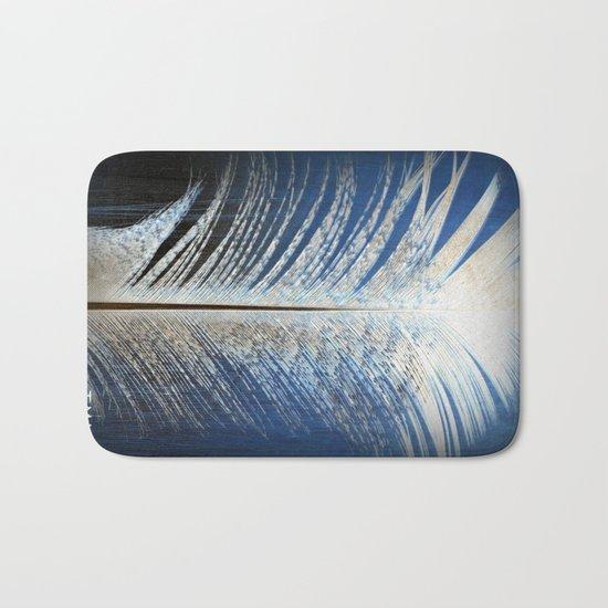 Feather Vignette Bath Mat