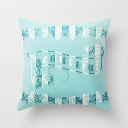 baroque beautiful Throw Pillow