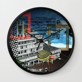 Magritte is waiting · 2 Wall Clock