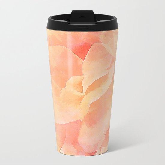 Nothing But Peach Metal Travel Mug