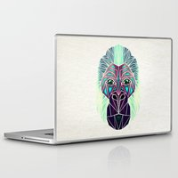 gorilla Laptop & iPad Skins featuring gorilla by Manoou