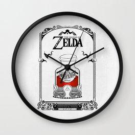 Zelda legend - Red potion  Wall Clock