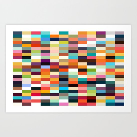 Pick a color Art Print