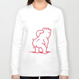 Small Shake - Strawberry Long Sleeve T-shirt