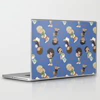 1d Laptop & iPad Skins featuring Sleepy 1D by Ashley R. Guillory