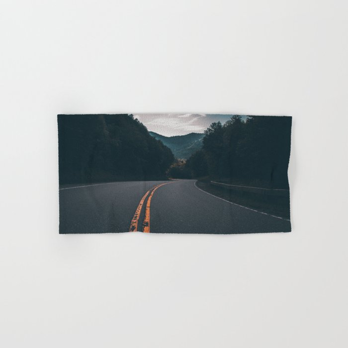 Road #Trees Hand & Bath Towel