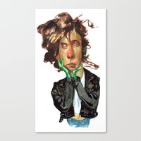 tim burton Canvas Prints featuring Tim Burton by RSAR