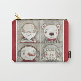 Big Happy Face for Christmas Carry-All Pouch
