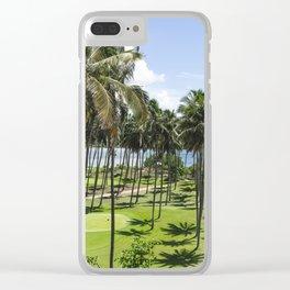 Sri Lankan Sea Shore Clear iPhone Case