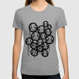 Faces In The Sky T-shirt