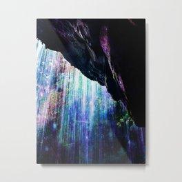 Enchanted Waterfall. Metal Print