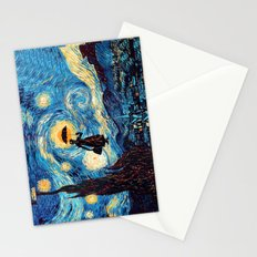 mary poppins Starry Night oil painting iPhone 4 4s 5 5c 6, pillow case, mugs and tshirt Stationery Cards