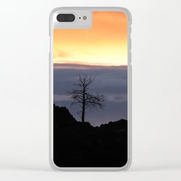 Standing tall Clear iPhone Case