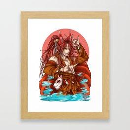 Kon Kon Framed Art Print