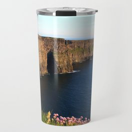 Cliffs of Moher In Evening Light Travel Mug