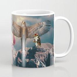 Birds with Cat Coffee Mug