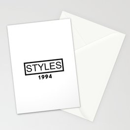 STYLES 1994 Stationery Cards