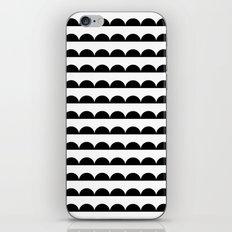 Scallop - Black and white minimal design print hipster urban city brooklyn socal san francisco bay p iPhone & iPod Skin