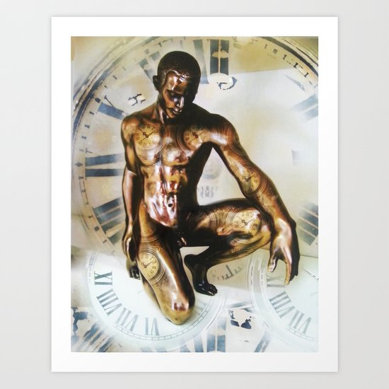 Master Of  Time Art Print