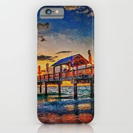 Pier 60, Clearwater Beach iPhone Case