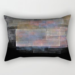 Hella Rad Bad Dad Plaid Rectangular Pillow