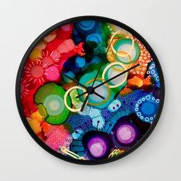 """""""Fruit Loops' Wall Clock"""