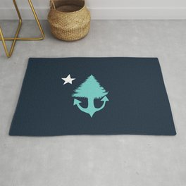 another maine flag Rug