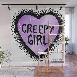 Creepy girl Wall Mural