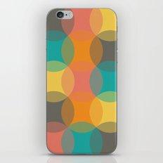 Geometric Circles iPhone Skin