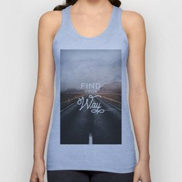 Find Your Way Unisex Tank Top