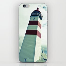 Lighthouse in norway iPhone Skin